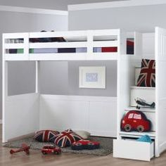 Willow Childrens High Sleeper Bed