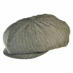 Brixton Hats Stripe Brood Newsboy Cap 38621afdfa2e