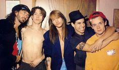 Axl Rose & the Red Hot Chili Peppers