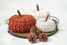 Crochet Fall, Halloween Crochet, Crochet Home, Crochet Gifts, Free Crochet, Halloween Crafts, Crochet Pumpkin Pattern, Crochet Ideas, Tejidos