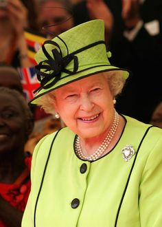 November 2007 - Just one of my style icons- HRH Queen Elizabeth II.