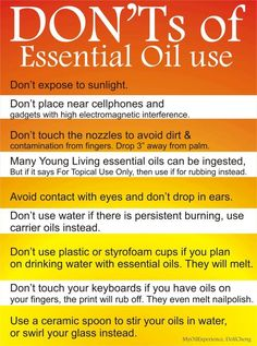 Essential Oils Reference Chart | Via Jessica Phillips