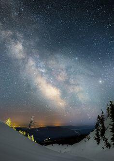 Milky Way Over Madras, Oregon, Image Taken By Ben Coffman