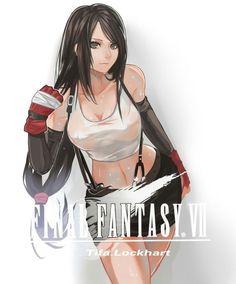 tifa lockhart from final fantasy.so beautiful  #tifalockhart #finalfantasy #cosplayclass