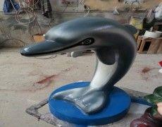 Yunus Fıskiye Fish Sculpture, Sculptures, Dolphins, Fountain, Water Fountains, Common Dolphin, Seal, Sculpture