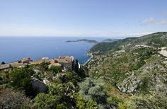"""Imagine I am dancing a little, singing """"Heaven, I'm in heaven, And the cares that hung around me through the week, Seem to vanish like a gambler's lucky streak..."""" @ChateauEza #Eze #France"""
