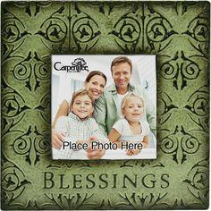 Metal Photo Frame Blessings | Carpentree