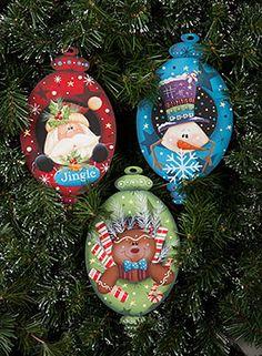 Portrait Ornaments