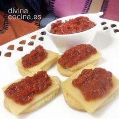 Mermelada de pimientos rojos » Divina CocinaRecetas fáciles, cocina andaluza y del mundo. » Divina Cocina