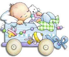 Designer Baby, Designer Image, Baby Girl Cards, New Baby Cards, Dibujos Baby Shower, Scrapbook Bebe, Baby Announcement Cards, Baby Illustration, Birthday Frames