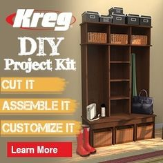 Holiday Gift Idea: The Kreg DIY Project Kit makes a great gift for any beginner do-it-yourselfer or woodworker. It includes 3 must-have tools & 10 step-by-step project plans! Visit your local Kreg Dealer (@homedepot, @lowes, etc.) to pick one up! Find a Kreg Dealer near you: https://www.kregtool.com/find-a-dealer/default.aspx. Learn more about the DIY Project Kit: https://www.kregtool.com/store/c48/saw-attachments/p323/diy-project-kit/?source=1593.