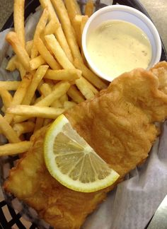 Ash Wednesday Special - Long Trail Beer Battered Fresh or Baked Haddock with fries