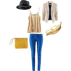 My polyvore H & M outfit - for going to the bar or a show