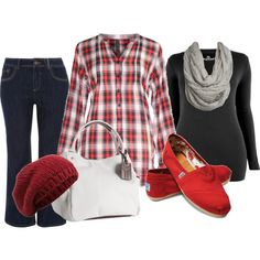 Plus Size Fashion, created by aracely26 on Polyvore  Looks so comfortable...