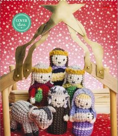 Crochet nativity: A set of sweet Christmas nativity characters - crafting24, creative diy crafts ideas.