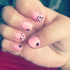 Cute cat nails