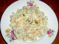 ČSN: Salát z rybího filé s majonézou a salát z tresky   pomazanky-recepty.cz Potato Salad, Food And Drink, Low Carb, Potatoes, Ethnic Recipes, Potato
