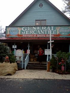 "Fred's General Store, on the top of Beech Mountain, NC - ""If we don't have it, you don't need it"" - everything from milk to hiking gear and more."