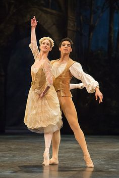 Alison McWhinney and Cesar Corrales in the Pas de Trois in English National Ballet's production of Swan Lake. Photo: © Photography by ASH