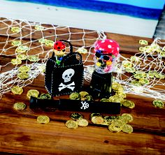 Your guests will treasure their pirate party favors and won't attack your ship for more trinkets! Well, maybe they will — they are pirates, after all! You'd better stock up on the loot from our #PirateParty favor store!