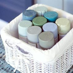 """Valerie always keeps a paint army at the ready. She uses the supply frequently, saying, """"I just spray paint anything I want to fit into my world."""""""