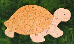 WoodenGiraffeToys by WoodenGiraffeToys Handmade Wooden Toys, Baltic Birch Plywood, Wood Toys, Scroll Saw, Stuffed Toys Patterns, Little People, New Art, Turtle, Alphabet