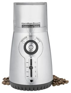 Hot Stainless Steel Hand Manual Grind Coffee Bean Burr Grinder Mill