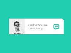 Message Widget by Carlos Sousa