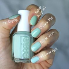 essie sommer 2018 empower mint essie envy nagellack essie summer 2018 delivers online tools that help you to stay in control of your personal information and protect your online privacy. Spring Nails, Summer Nails, Ten Nails, Shellac Nails, Essie Nail Colors, Manicure Y Pedicure, Diy Nail Designs, Chrome Nails, Pretty Nails