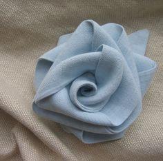 Handmade fabric flower brooch | Flickr – Compartilhamento de fotos!