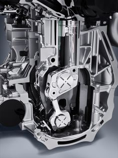 Variable Compression Ratio Engine means a turbo engine with lots of power can have high efficiency too.