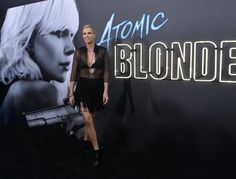 "Charlize Theron and Chelsea Handler attended the premiere of ""Atomic Blonde"" at The Theatre at the Ace Hotel in Los… – @UPI Photo Gallery"
