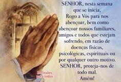 Acesse esta oração no nosso blog, com link para a Oração da Semana e muitas outras orações, reflexões, mensagens...