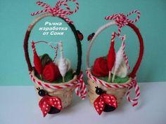 Diy Christmas Gifts, Christmas Cards, Christmas Ornaments, Holiday Decor, Baba Marta, Polymer Clay Embroidery, Yarn Dolls, Hello Spring, Kids Education