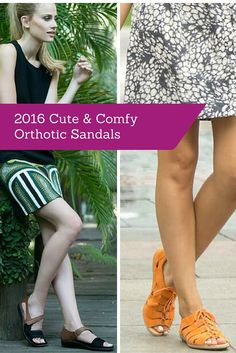 YES! A list of orthotic sandals that are cute (and most importantly comfy).