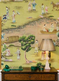 de Gournay: Nos collections - Papier peints et tissus de soies peint a la main - Collection de Chinoiserie |