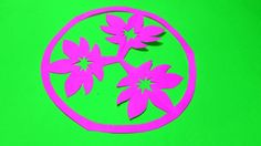 Paper cutting how to make easy simple paper cutting flower design paper cutting flowers step by step how to make easy simple paper flowers mightylinksfo