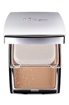 Dior #beauty #cosmetics #makeup nude creme gel compact