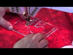 This video demonstrates templates on a Domestic Sewing Machine with the new Westalee Designs products by Sew Steady