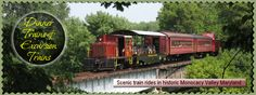 Walkersville Southern Railroad - Out of Frederick!  I want to do this in October!