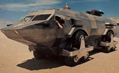 The Ultimate RV. The Landmaster from Damnation Alley.