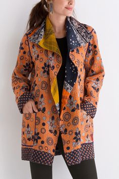 Kantha Pocket Jacket #15