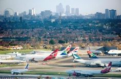 Report Heathrow is better located for passengers, business and jobs than new hub airport at Stansted or in Thames Estuary