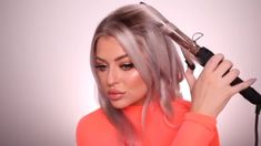 Curling Iron Tutorial, Bob Hairstyles Brunette, Hair Extension Clips, Wand Curls, Styling Tools, Hair Tools, Flat Iron, Keratin, Hair Extensions