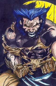 Logan Comic Art