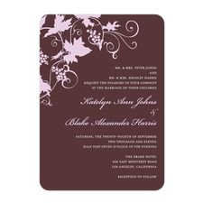 Wine Country Wedding Cards