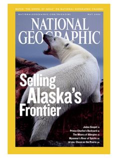 Cover of the May, 2006 Issue of National Geographic Magazine  Photographic Print  by Joel Sartore