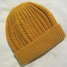 Crochet Me Lovely - Crochet Seafarer's Cap pattern by Beth Hall