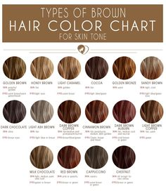 24 Shades Of Brown Hair Color Chart To Suit Any Complexion hair color shades – hair ideas Types Of Brown Hair, Medium Brown Hair Color, Brown Hair Shades, Brown Ombre Hair, Ombre Hair Color, Brown Hair Colors, Cool Hair Color, New Hair Colors, Brown Hair Chart