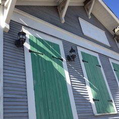 Hurricane shutters that actually work. New Orleans.